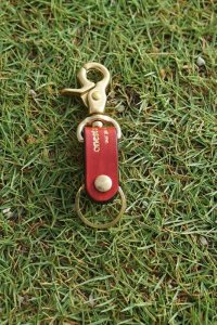 one star shinning / key holder / OSS (red)
