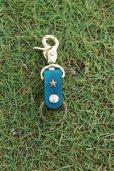画像2: one star shinning /key holder × key cap set (blue) / one star ×sun (2)
