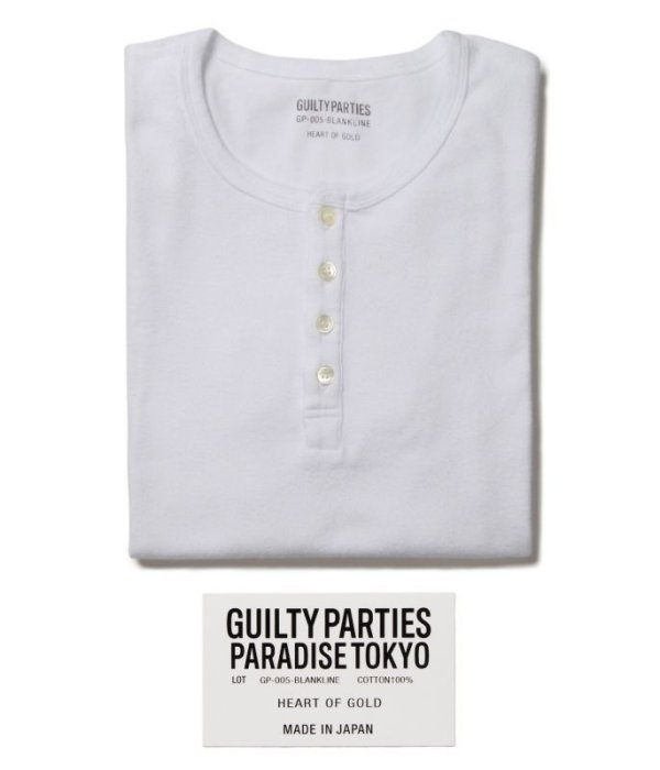 画像1: WACKOMARIA SHORT SLEEVE FRAISU HENRY NECK SHIRT