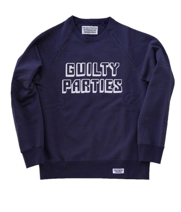 画像3: WACKOMARIA WASHED HEAVY WEIGHT CREW NECK SWEAT SHIRT (GP LOGO)