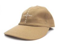 "FLAGSTUFF COTTON CAP""CROSS LOGO"" CAP BEIGE"