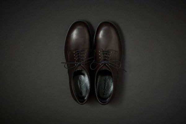 画像2: PADRONE DERBY PLAIN TOE SHOES