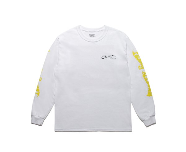 画像2: FUNKY NASSAU / LONG SLEEVE T-SHIRT white