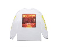 FUNKY NASSAU / LONG SLEEVE T-SHIRT white