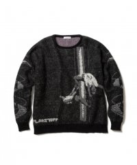 F-LAGSTUF-F STRIP MOHAIR SWEATER