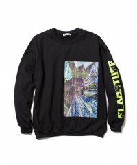 "F-LAGSTUF-F ""Continually"" SWEAT /  BLACK"