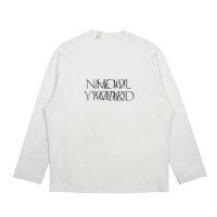 N'HOOLYWOOD LONG SLEEVE T-SHIRT white