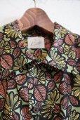 画像2: Kiruto Flower Hawaiian shirt (KARIYUSHI WEAR Flower PATTERN) green (2)