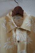 画像3: Kiruto pineapple Hawaiian shirt (KARIYUSHI WEAR PINEAPPLE PATTERN) beige (3)