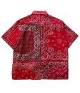 画像8: Children of the discordance    VINTAGE BANDANA PATCHWORK SHIRT SS (8)