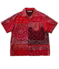 Children of the discordance    VINTAGE BANDANA PATCHWORK SHIRT SS