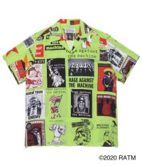 WACKOMARIA RAGE AGAINST THE MACHINE / S/S HAWAIIAN SHIRT lim