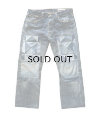 Children of the discordance NY OLD PATCH DENIM PANTS