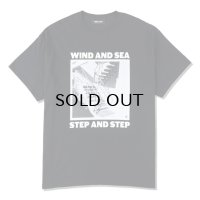 WDS STEP AND STEP  PHOTO T-SHIRT -blk-
