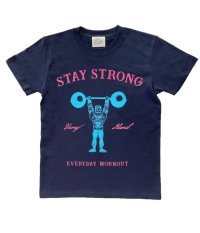 STAY STRONG BOYS T-sh / navy