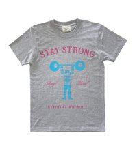 STAY STRONG BOYS T-sh / gray